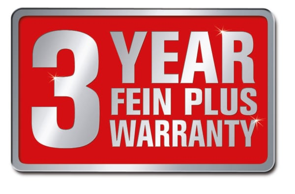 3 Year Warranty Fein GIXS Machine Base | EC Hopkins Limited