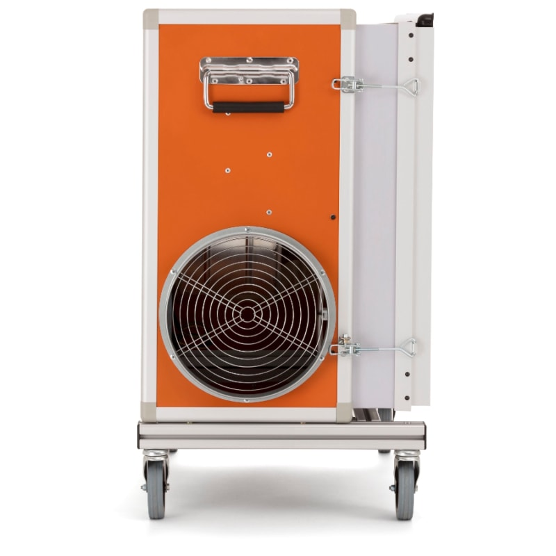 A2000 Dust Extractor side Husqvarna A2000 Dust Collector Air Cleaner | EC Hopkins Limited