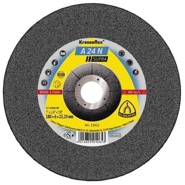 Klingspor A24N Supra grinding discs