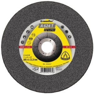 The Klingspor A624T Supra grinding discs