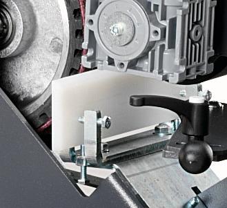 Centreless Module Nylon Support Fein GI75-GIC Abrasive Centreless Machines | EC Hopkins Limited
