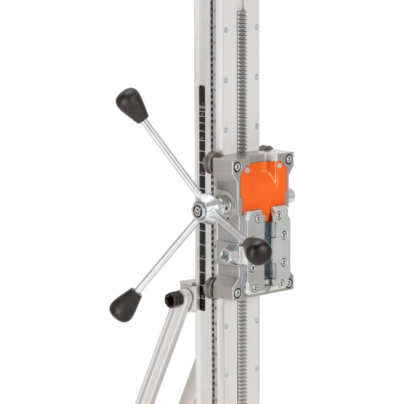 DS500 Drill Stand Close up Husqvarna DS500 Drill Stand | EC Hopkins Limited