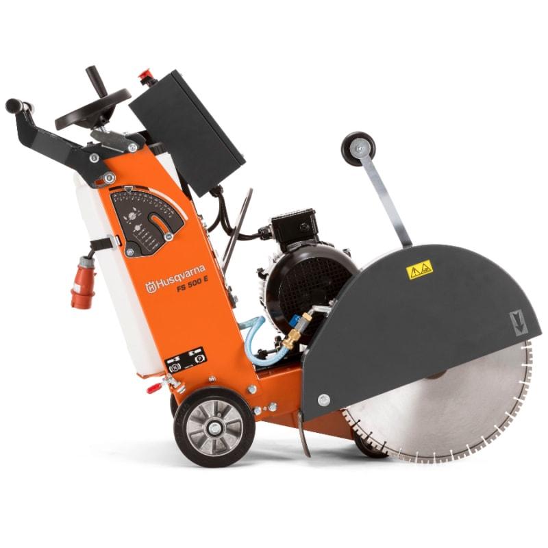FS500E Floor Saw Side Huaqvarna FS500E Floor Saw 500mm | EC Hopkins Limited