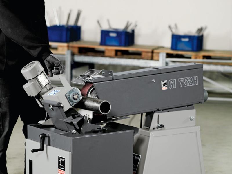 Fein GI Centreless in use 1 Fein GI75-GIC Abrasive Centreless Machines | EC Hopkins Limited