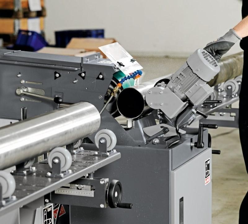 Fein GI Centreless in use 3 Fein GI150-GIC Abrasive Centreless Machines | EC Hopkins Limited