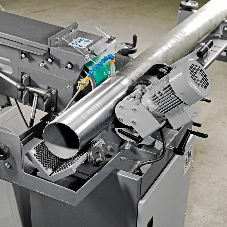 Fein GI Centreless in use 4 Fein GI150-GIC Abrasive Centreless Machines | EC Hopkins Limited