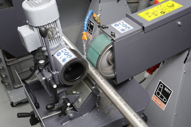 Fein GX Centreless in Wet use Fein GX75-GXC Abrasive Centreless Machines | EC Hopkins Limited
