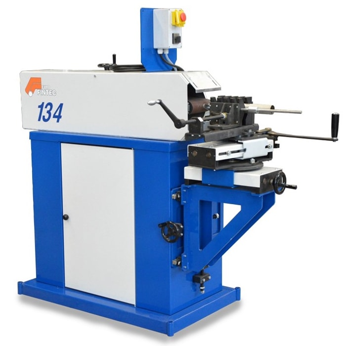 Gecam 134 abrasive tube notching machine for pipes and tube from 10 to 150mm diameter.