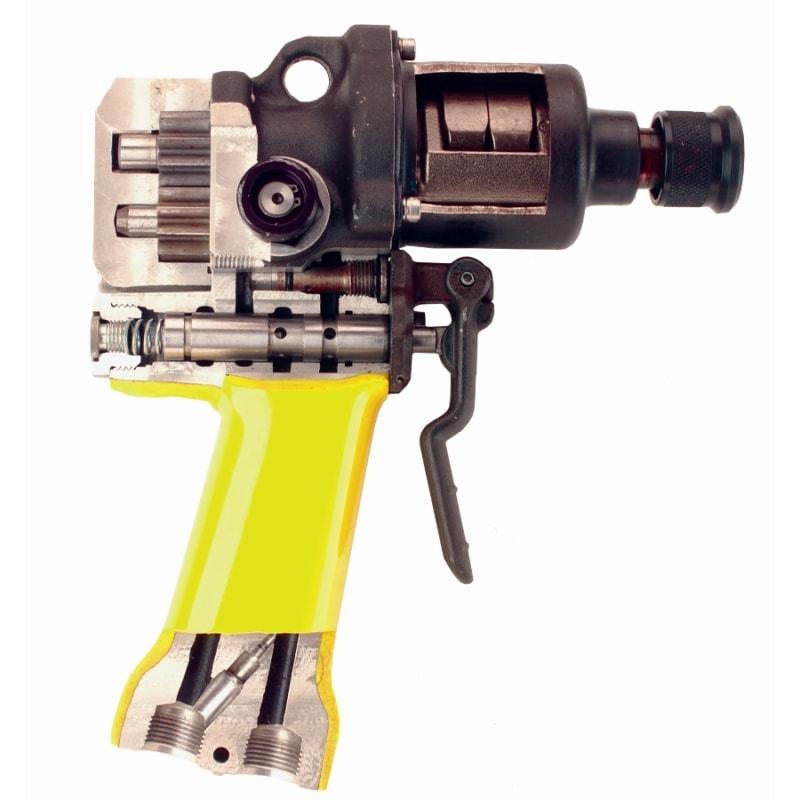 "ID07 Impact Wrench Land Cut Away Stanley ID07 Impact Driver 1/2"" Sq Drive 