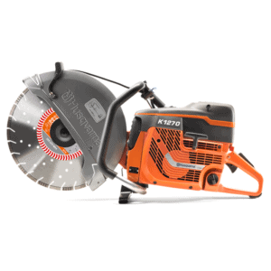 The Husqvarna K1270 petrol disc cutter