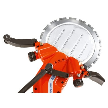 K3600 Depth of Cut Husqvarna K3600 Hydraulic Ring Saw | EC Hopkins Limited