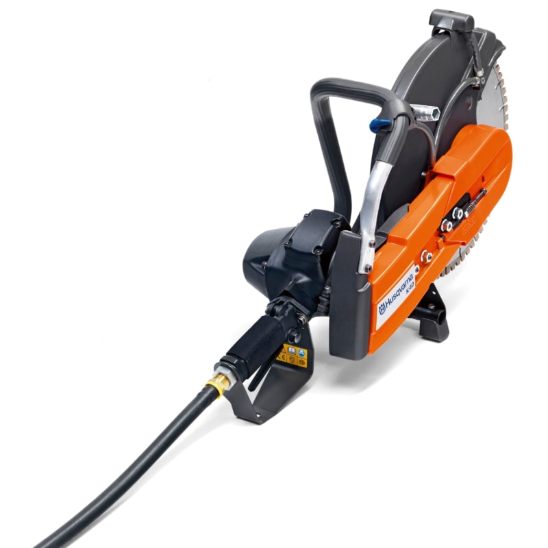 K40 rear right scaled Husqvarna K40 Air Powered Disc Cutter | EC Hopkins Limited