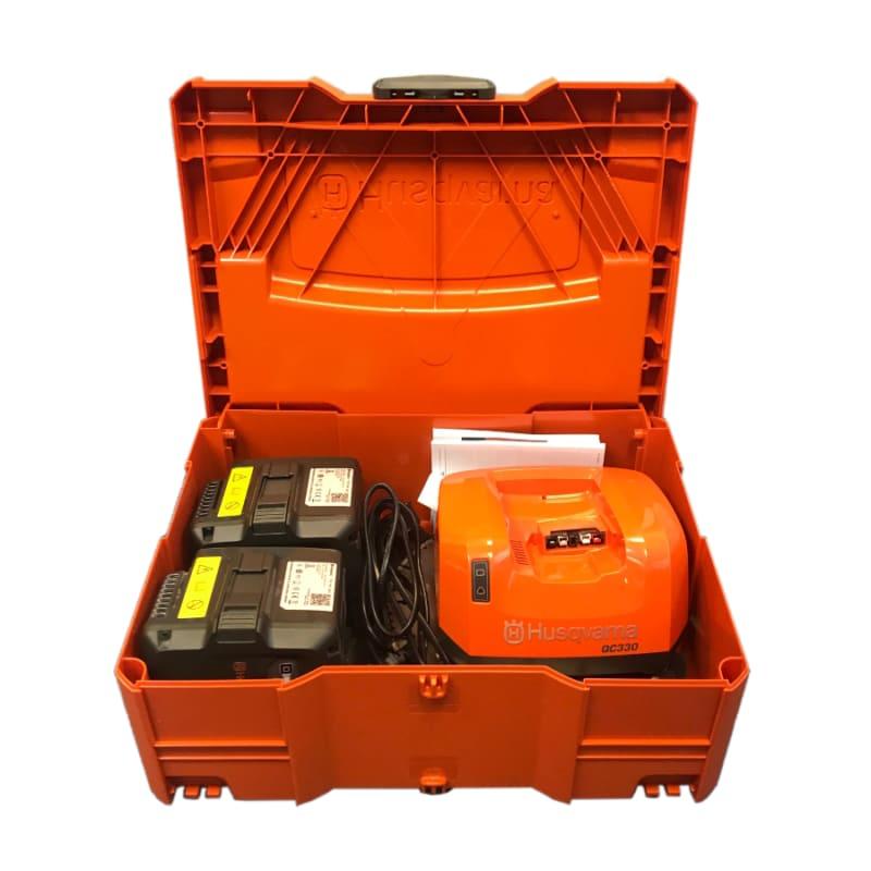 K535i New Case Husqvarna K535i Battery 230mm Saw Kit inc Battery & Charger   EC Hopkins Limited