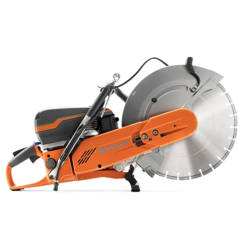 K970 side 900 x 900 Husqvarna K970 Petrol Disc Cutter | EC Hopkins Limited
