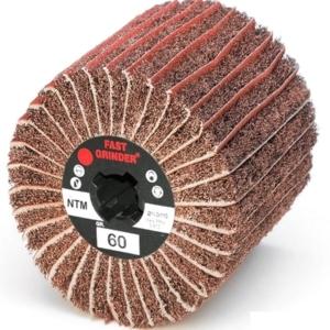 Fast Grinder interleaved combi flap wheels