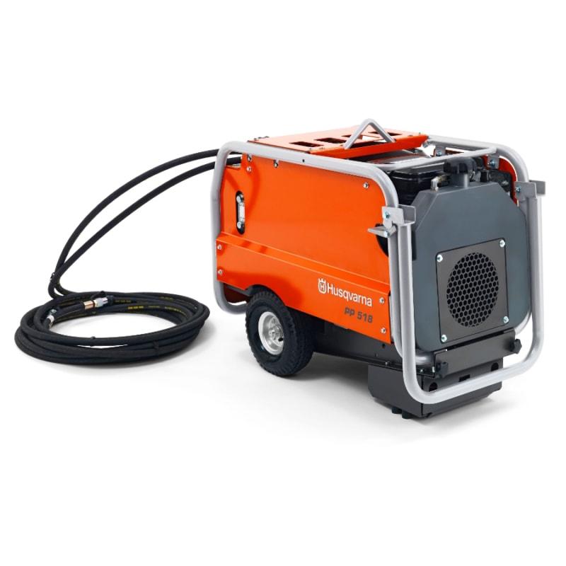 Husqvarna PP518 Petrol Powered Hydraulic Power Pack