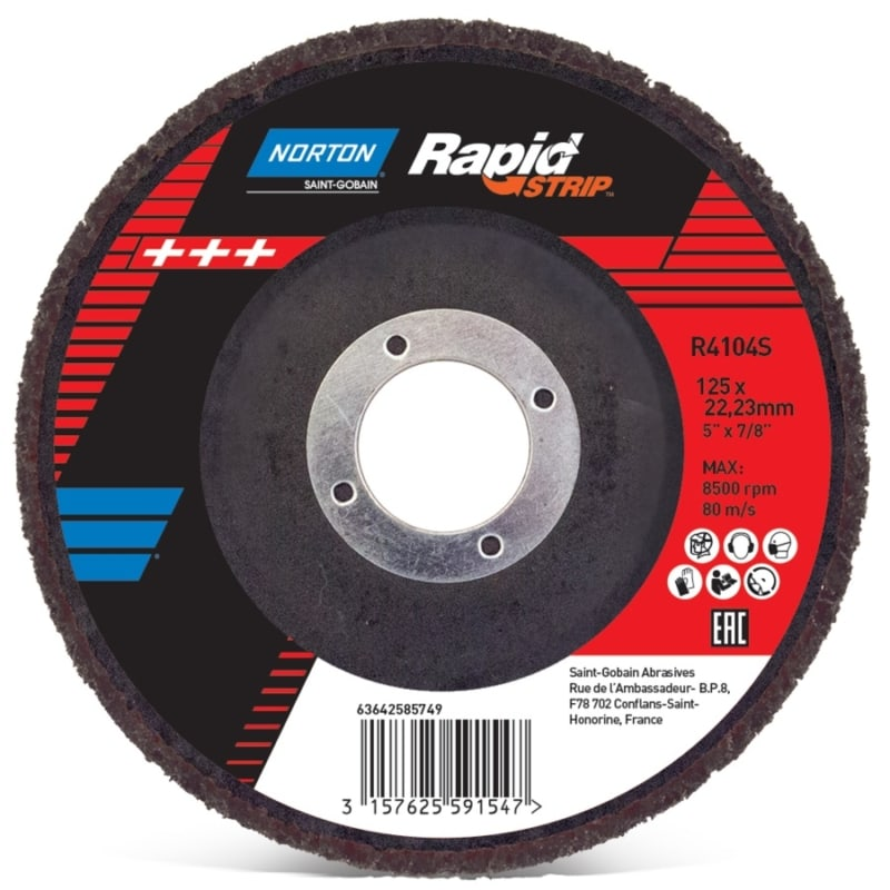 Rapid Strip 44 Norton Rapid Strip Discs | EC Hopkins Limited