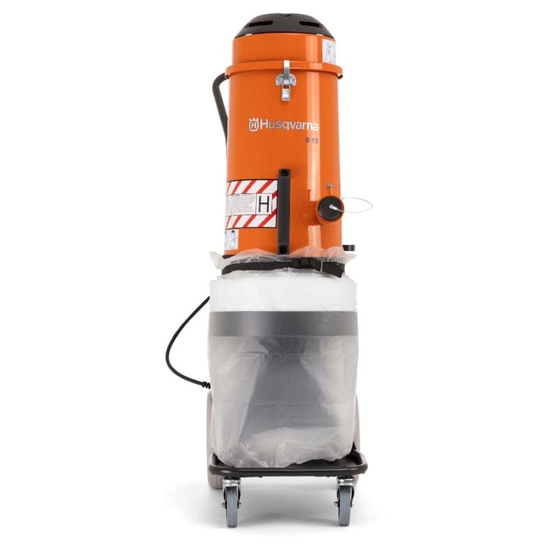 S13 Vacuum Husqvarna S13 Dust Collector | EC Hopkins Limited
