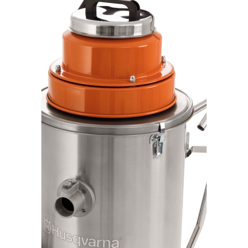 W70 Wet Vac close up Husqvarna W70 Wet / Dry Vacuum | EC Hopkins Limited
