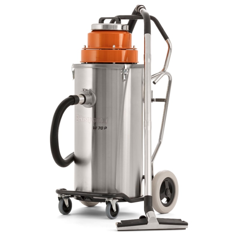 W70P wet vac Husqvarna W70P Wet and Slurry Vacuum | EC Hopkins Limited