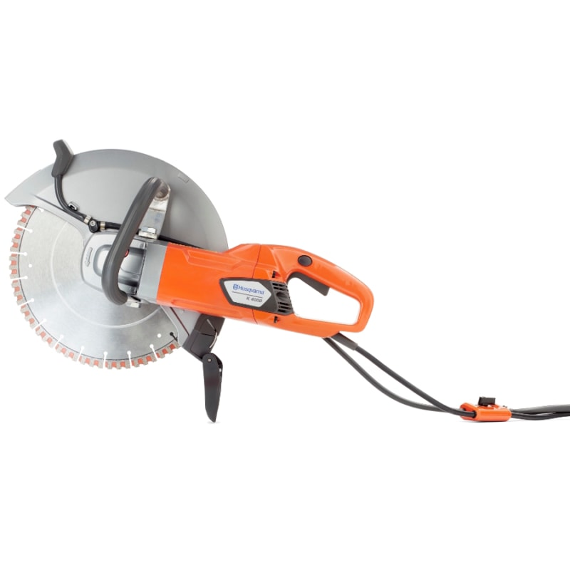 k4000 900x900 1 Husqvarna K4000 Wet & Dry Electric Disc Cutter 350mm | EC Hopkins Limited