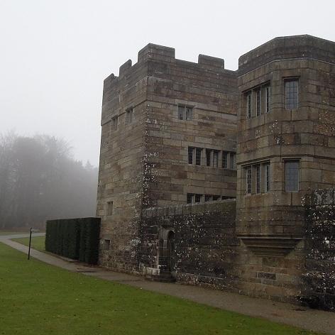 Castle Drogo Wall Repairs