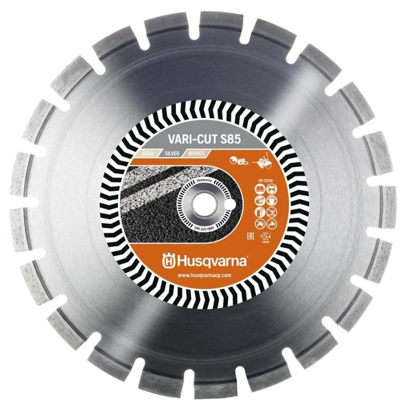 Husqvanra Vari Cut S85 Diamond Disc Husqvarna Diamond Disc Vari-Cut S85 | EC Hopkins Limited