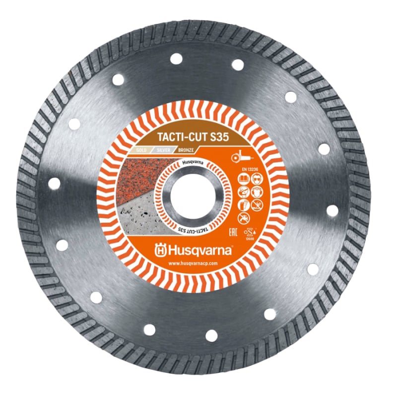 Husqvarna Tacti Cut S35 Diamond Disc Husqvarna Diamond Disc Tacti-Cut S35 | EC Hopkins Limited