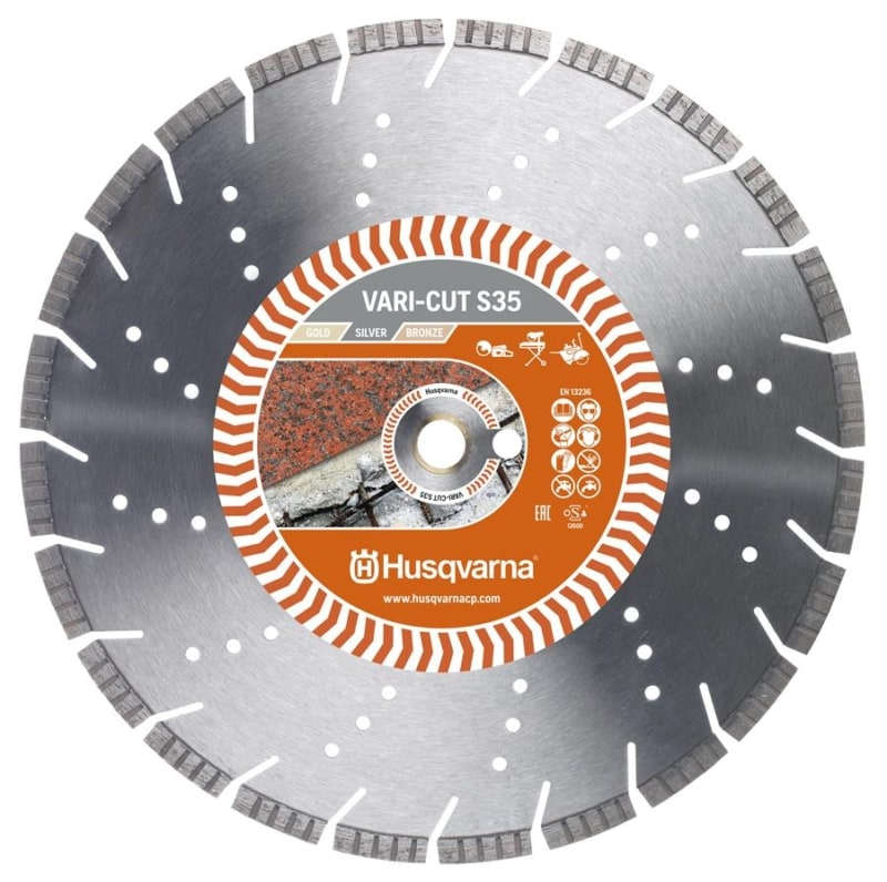 Husqvarna Vari-Cut S35 Diamond Disc