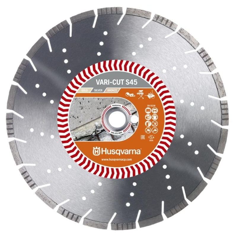 Husqvarna Vari Cut S45 Diamond Disc Husqvarna Diamond Disc Vari-Cut S45 | EC Hopkins Limited
