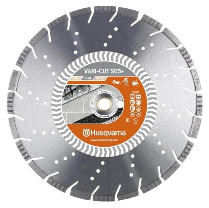Husqvarna Vari Cut S65 Diamond Disc Husqvarna Diamond Disc Vari-Cut S65+ | EC Hopkins Limited
