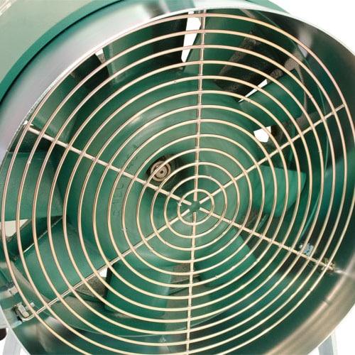 Spitznas Pneumatic Fan 300mm Mobile Grill Spitznas Pneumatic Mobile Axial Fan 300m Diameter | EC Hopkins Limited