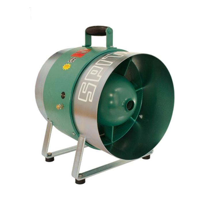 Spitznas Pneumatic Fan 300mm Mobile Spitznas Pneumatic Mobile Axial Fan 300m Diameter | EC Hopkins Limited