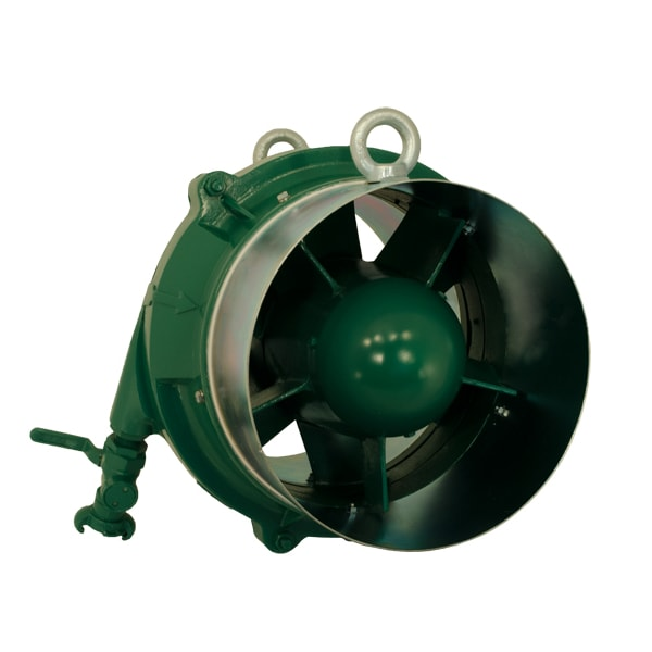 Spitznas Pneumatic Fan front Spitznas Pneumatic Axial Fan 600mm Diameter | EC Hopkins Limited