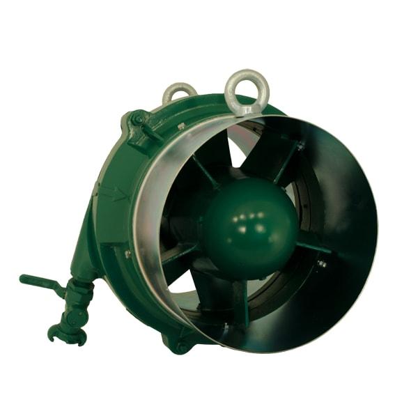 Spitznas Pneumatic Fan front Spitznas Pneumatic Axial Fan 300mm Diameter | EC Hopkins Limited