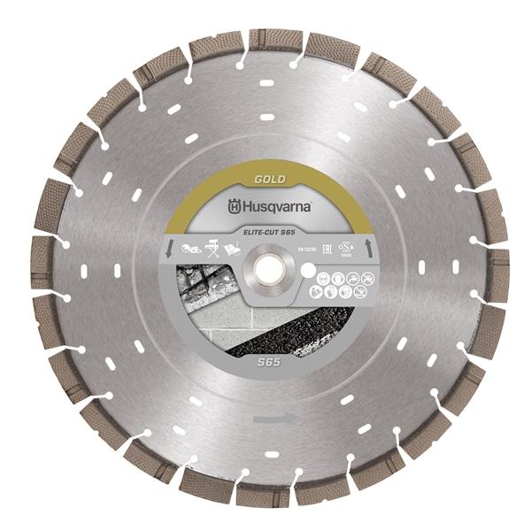 Elite Exo Grit S65 Husqvarna Diamond Disc Elite Cut S65 Exo Grit | EC Hopkins Limited