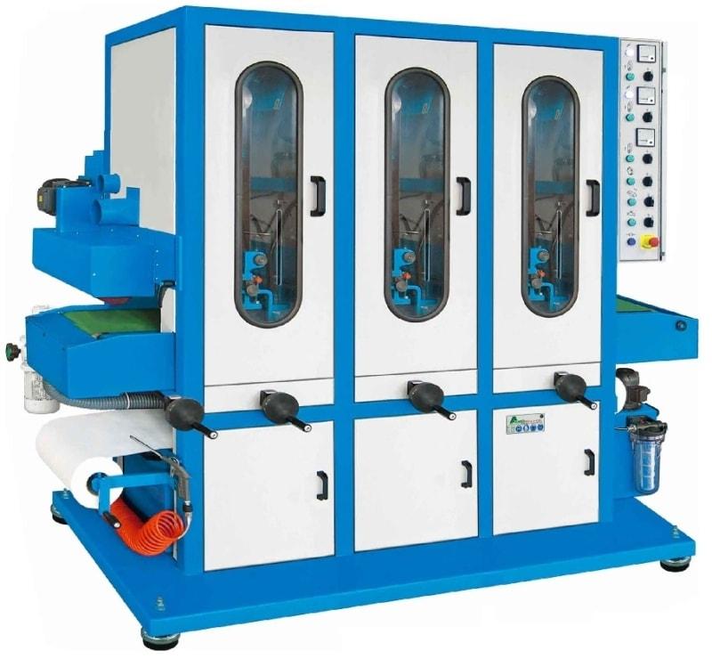 Aceti 76 3N1S Aceti Art 76 Abrasive Through-feed Machine   EC Hopkins Limited