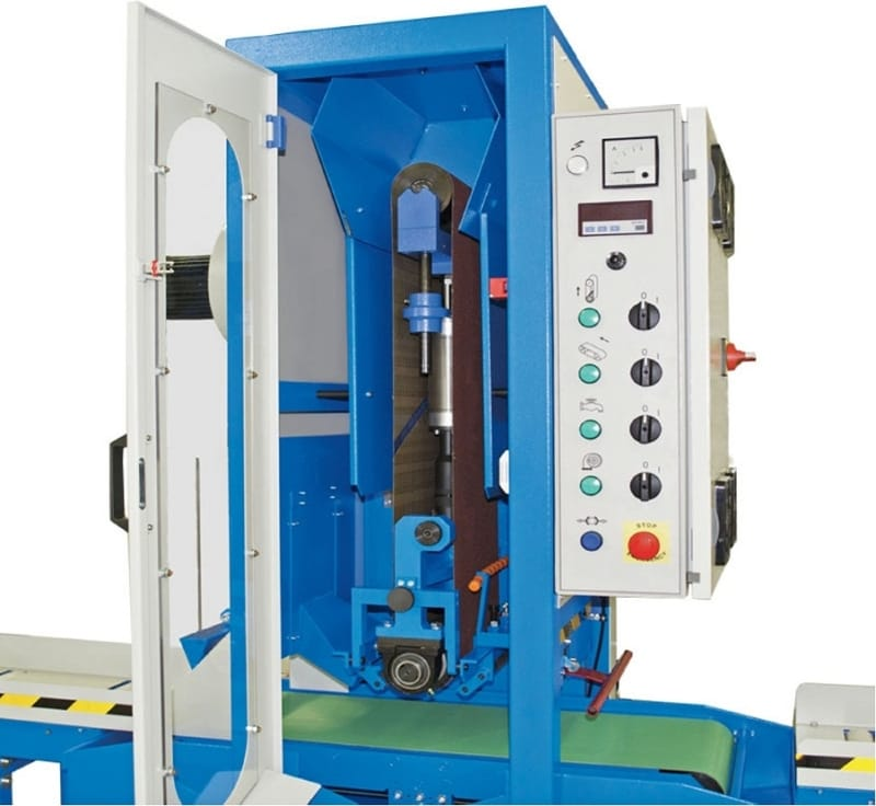 Aceti 76 open Aceti Art 76 Abrasive Through-feed Machine   EC Hopkins Limited