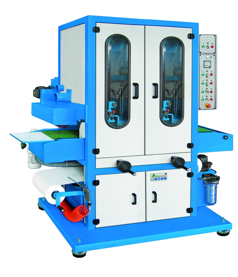 Aceti Art 76 2N1S Aceti Art 76 Abrasive Through-feed Machine   EC Hopkins Limited