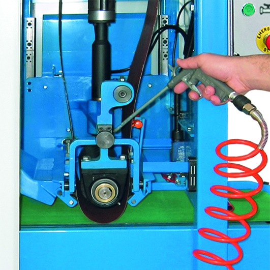 Aceti Art 76 Cleandown Hose Aceti Art 76 Abrasive Through-feed Machine   EC Hopkins Limited