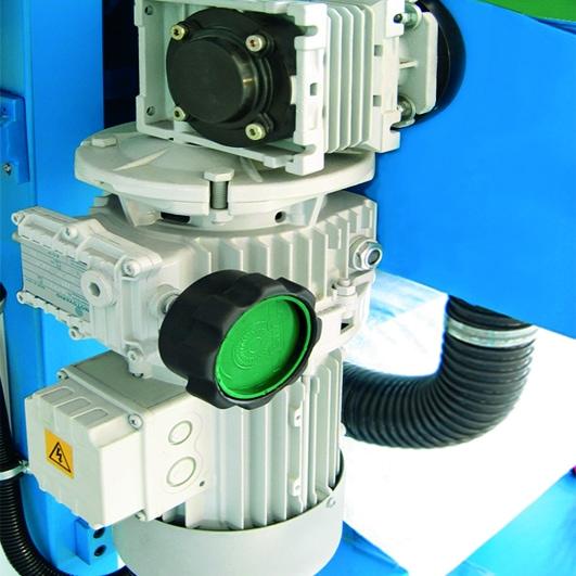 Aceti Art 76 Conveyor Motor Aceti Art 76 Abrasive Through-feed Machine   EC Hopkins Limited