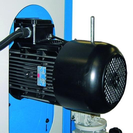 Aceti Art 76 Motor Aceti Art 76 Abrasive Through-feed Machine   EC Hopkins Limited