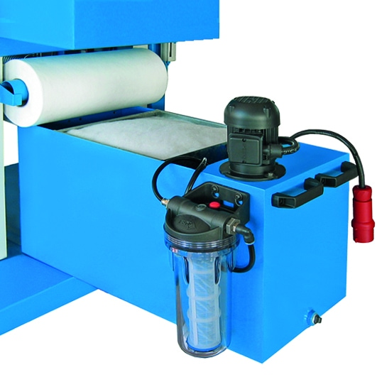Aceti Art 76 Wet unit Aceti Art 76 Abrasive Through-feed Machine   EC Hopkins Limited
