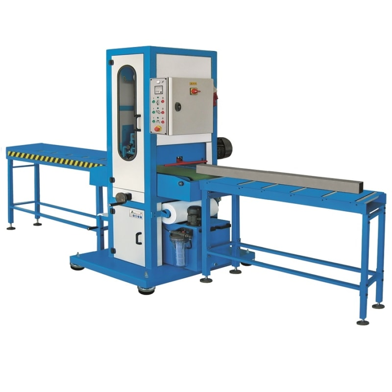 Aceti Art 76 with Conveyors Aceti Art 76 Abrasive Through-feed Machine   EC Hopkins Limited