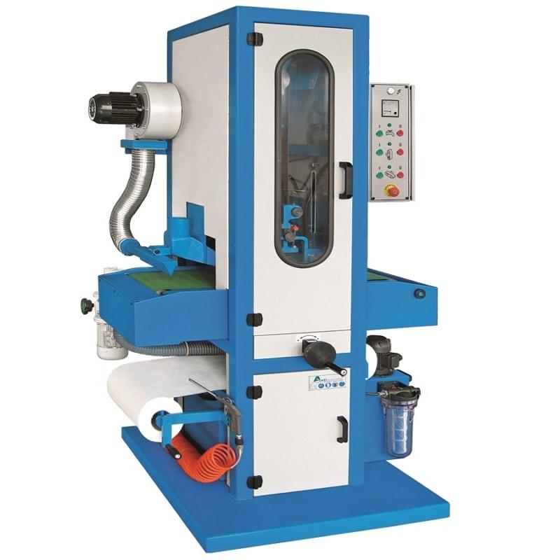 Aceti Art 76 with Parts Dryer Aceti Art 76 Abrasive Through-feed Machine   EC Hopkins Limited