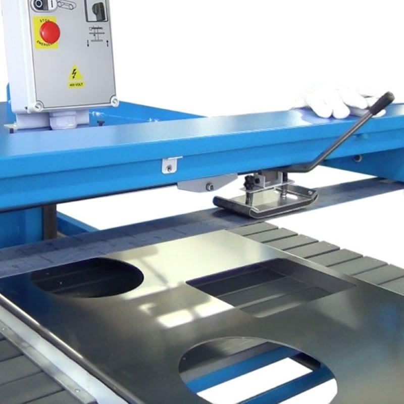 art.143 long belt polishing machine by pad for flat surfaces g515 Aceti ART 145 Overhead Pad Sander | EC Hopkins Limited