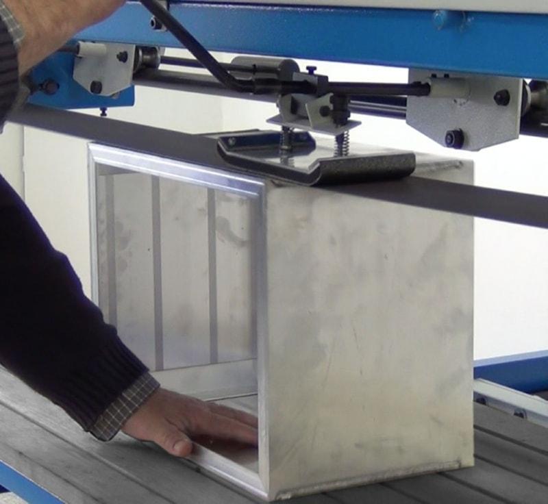 art.144 long belt polishing machine by pad for flat surfaces g512 Aceti ART 145 Overhead Pad Sander | EC Hopkins Limited