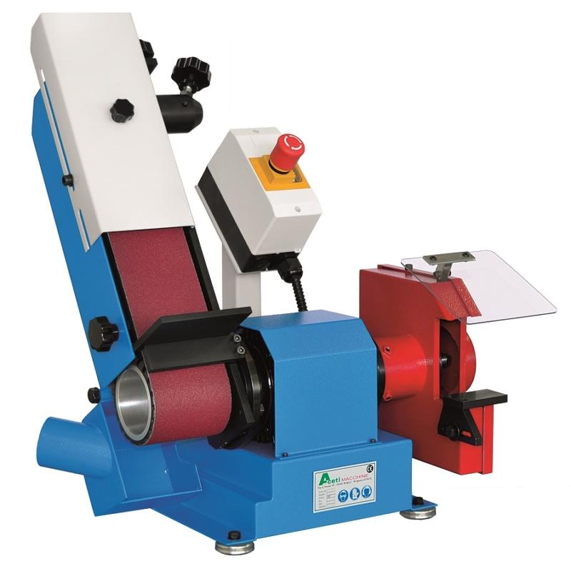 Art 135 Abrasive Belt Linisher and Grinding Machine